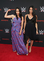 NORTH HOLLYWOOD, CA - JUNE 6: Brie Bella, Nikki Bella,  WWE's First-Ever Emmy &quot;For Your Consideration&quot; Event at The Saban Media Center in North Hollywood, California on June 6, 2018. <br /> CAP/MPIFS<br /> &copy;MPIFS/Capital Pictures