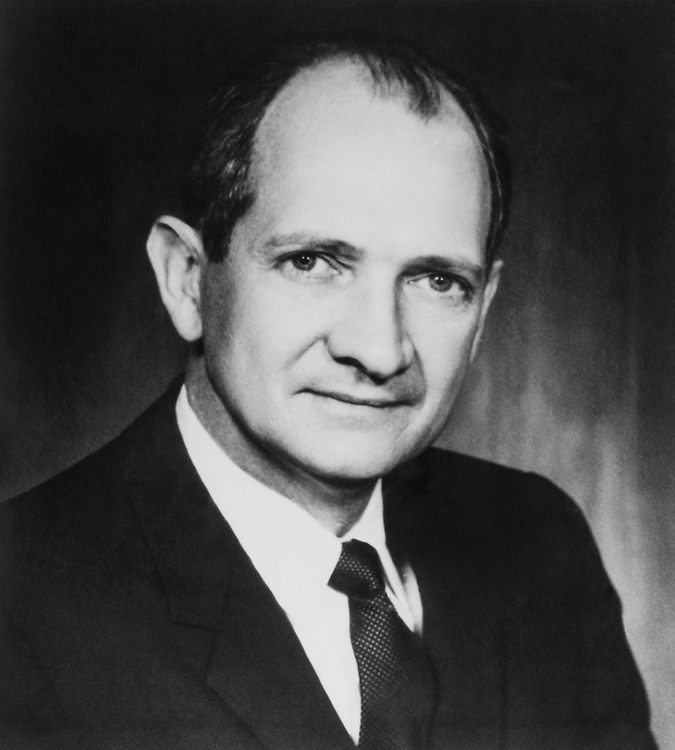 Close-up of Rep. Jack Brooks, D-Tex. (Photo by CQ Roll Call)