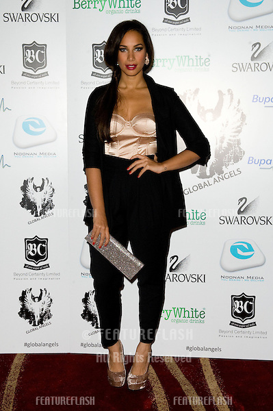 Leona Lewis arriving for the Global Angels Awards at the Park Plaza Hotel in Westminster London. 02/12/2011 Picture by: Simon Burchell / Featureflash