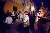 Procession of Cristo de la Amargura in Granada