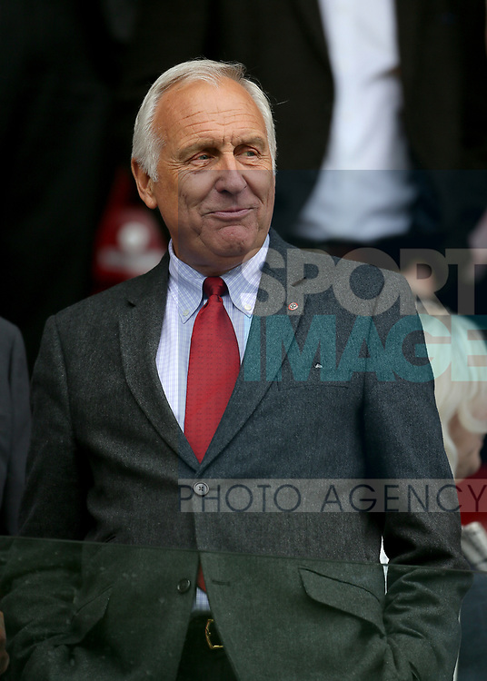 Sheffield Utd co-owner Kevin McCabe during the pre season match at the Flamingo Land Stadium, Scarborough. Picture date 15th July 2017. Picture credit should read: Richard Sellers/Sportimage