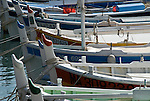Colorful Boats in the Harbor of Cassis, Provence, South of France