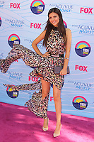 UNIVERSAL CITY, CA - JULY 22: Victoria Justice at the 2012 Teen Choice Awards at Gibson Amphitheatre on July 22, 2012 in Universal City, California. &copy; mpi28/MediaPunch Inc. /NortePhoto.com*<br />