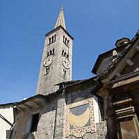 Particolari della Chiesa di Sant'Ambrogio a Omegna