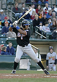 May 28, 2004:  John Pachot of the Norfolk Tides, Triple-A International League affiliate of the New York Mets, during a game at Frontier Field in Rochester, NY.  Photo by:  Mike Janes/Four Seam Images