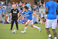 San Jose, CA - Saturday June 17, 2017: Jahmir Hyka prior to a Major League Soccer (MLS) match between the San Jose Earthquakes and the Sporting Kansas City at Avaya Stadium.