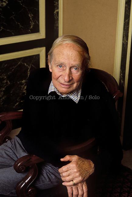Laurens Van der Post, Afrikaner author (1906-1996).