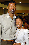 Juwan Howard and his wife Jenine at the Festari grand opening benefiting the March of Dimes Saturday Aug. 29, 2009.(Dave Rossman/For the Chronicle)