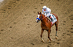 Improbable #2, ridden by Drayden Van Dyke, wins the Street Sense Stakes on Breeders' Cup World Championship Friday at Churchill Downs on November 2, 2018 in Louisville, Kentucky. Carolyn Simancik/Eclipse Sportswire/CSM