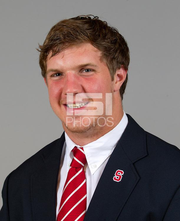 Chris Harrell, a member of Stanford University Football team. Photo taken on  Wednesday June 26, 2013.