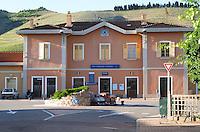 train station tain l hermitage rhone france