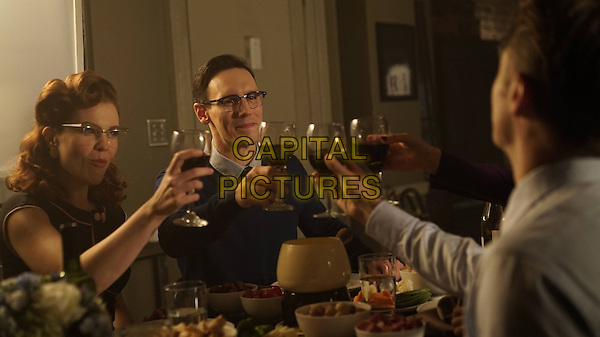 Gotham (2014&ndash; ) <br /> (Season 2, Episode 5, &quot;Scarification&quot;)<br /> Chelsea Spack as Kristen Kringle and Cory Michael Smith as Edward Nygma (Future Riddler).<br /> *Filmstill - Editorial Use Only*<br /> CAP/KFS<br /> Image supplied by Capital Pictures