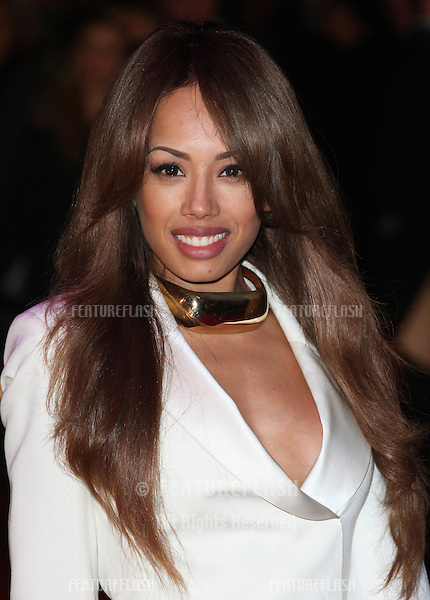 Jade Ewen arriving for the UK premiere of 'Flight' at Empire Leicester Square, London. 17/01/2013 Picture by: Alexandra Glen / Featureflash