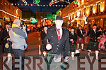 at the Rose of Tralee parade through Tralee town centre on Saturday night.