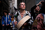 NEW YORK, NY - APRIL 20: Members of Occupy Wall Street gather during a spring training protest on April 20, 2012 in New York City