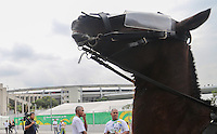 RIO DE JANEIRO, 30.06.2013 - COPA DAS CONFEDERAÇÕES - FINAL - BRASIL X ESPANHA -  Policiamento reforcado entorno do Estadio antes da partida da final da Copa das Confederações Estádio do Maracanã, na zona norte do Rio de Janeiro, neste domingo, 30. (Foto: Vanessa Carvalho / Brazil Photo Press)