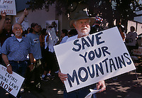 Rally against Mountaintop removal mining in Charleston, WV.