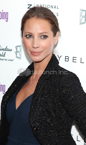 NEW YORK,NY-APRIL 12: Christy Turlington Burns at Good Housekeeping's Annual Shine on Awards honoring remarkable women at Radio City Music Hall on April 12, 2011 in New York City. © Michelle Gray / MediaPunch Inc.