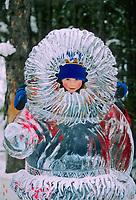 World Ice Art Championship, Kiddy park statue, Fairbanks, Alaska