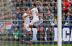 Sevilla FC's Luuk de Jong and Sevilla FC's Jesus Navas celebrates after scoring a goal during La Liga match. Mar 07, 2020. (ALTERPHOTOS/Manu R.B.)
