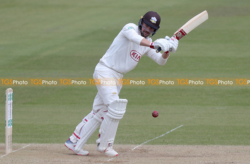 Rory Burns of Surrey in batting action during Surrey CCC vs Essex CCC, Specsavers County Championship Division 1 Cricket at the Kia Oval on 14th April 2019