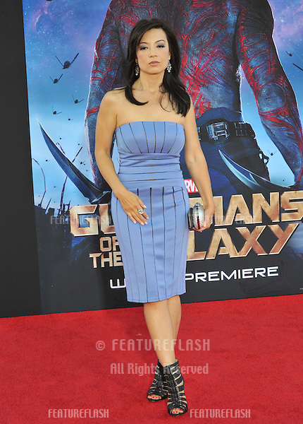 Ming-Na Wen at the world premiere of &quot;Guardians of the Galaxy&quot; at the El Capitan Theatre, Hollywood.<br /> July 21, 2014  Los Angeles, CA<br /> Picture: Paul Smith / Featureflash
