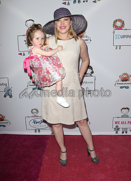 30 April 2017 - Los Angeles, California - Amelie Irene Bailey, Adrienne Frantz. Zimmer Children's Museum We All Play Event. Photo Credit: AdMedia