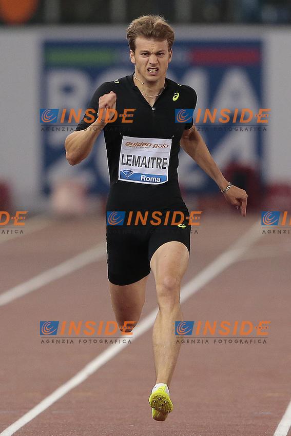Lemaitre Christophe Francia 200m Men  <br /> Roma 04-06-2015 Stadio Olimpico<br /> IAAF Diamond League 2015 Rome<br /> Golden Gala Meeting - Track And Field Athletics Meeting<br /> Foto Cesare Purini / Insidefoto