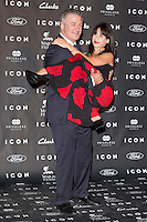 "Alec Baldwin and his wife Hilaria Thomas  attends the ""ICON Magazine AWARDS"" Photocall at Italian Consulate in Madrid, Spain. October 1, 2014. (ALTERPHOTOS/Carlos Dafonte) /nortephoto.com"
