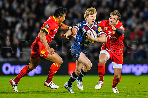 29.03.2014. Bordeaux, France. Top 14 rugby Union. Bordeaux versus Perpignan.  Blair CONNOR (ubb)