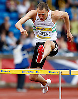 Photo: Richard Lane/Richard Lane Photography..Aviva World Trials & UK Championships athletics. 11/07/2009. David Greene in a men's 400m heat.