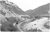 &quot;By the River - Durango, Colo.&quot;  &quot;Entering Durango.&quot;<br /> D&amp;RGW  Rockwood, CO  Taken by Ward, Bert H. - 7/8/1946