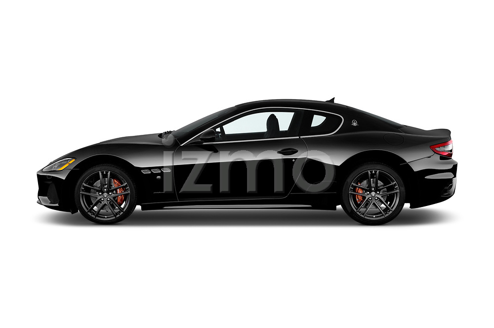 Car driver side profile view of a 2018 Maserati GranTurismo Automatic 2 Door Coupe