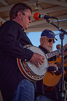 Julian Stokes and Ross Morrison of the band Frontline perform at Jammin in the Hammock, Bluegrass Fesival, Collier Seminole State Park, 2010. Photo by Debi Pittman Wilkey