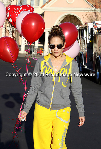 Pictured: Jennifer Lopez, Guadalupe Rodriguez<br /> Mandatory Credit &copy; ACLA/Broadimage<br /> Jennifer Lopez and mother shopping for balloons on Valentine's day  in Calabasas<br /> <br /> 2/14/14, Calabasas, California, United States of America<br /> <br /> Broadimage Newswire<br /> Los Angeles 1+  (310) 301-1027<br /> New York      1+  (646) 827-9134<br /> sales@broadimage.com<br /> http://www.broadimage.com