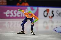 SCHAATSEN: HEERENVEEN: Thialf, World Cup, 02-12-11, 500m B, Janine Smit NED, ©foto: Martin de Jong