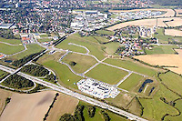 Deutschland, Schleswig- Holstein, Reinfeld, Gewerbegebiet, A7