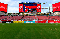 Tampa, FL - Thursday, October 11, 2018: Hisense field board during a USMNT match against Colombia.  Colombia defeated the USMNT 4-2.