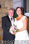 Bridget O'Connor, Castlegregory, daughter of James and Mary O'Connor, and Barry Murphy, Cork, son of Finbarr and Jane Murphy were married at a civil service at the Fels Point Hotel on Friday 17th October 2014 with a reception after at the Hotel