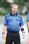 28 August 2015: Assistant Referee Forrest Ambrose. The Elon University Phoenix played the DePaul University Blue Demons at Koskinen Stadium in Durham, NC in a 2015 NCAA Division I Men's Soccer match. Elon won the game 4-0.