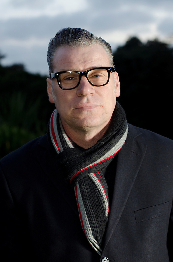 Film Critic Dr Mark Kermode photographed before presenting a guest lecture at Falmouth University