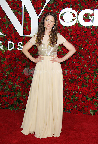 NEW YORK, NY-June 12: Sara Bareilles  at the 70th Annual Tony Awards at the Beacon Theatre in New York. NY June 12, 2016. Credit:RW/MediaPunch