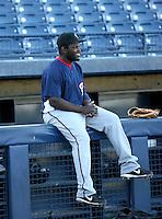 Leonard Davis / Peoria Saguaros 2008 Arizona Fall League..Photo by:  Bill Mitchell/Four Seam Images