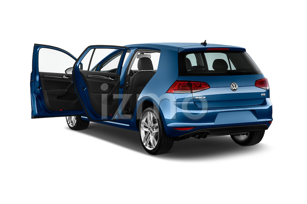 Car images of a 2015 Volkswagen Golf SEL 4-door TSI  Auto PZEV 4 Door Hatchback Doors