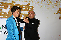 "LOS ANGELES - SEP 19:  Winner of America's Got Talent 2018, Shin Lim, Howie Mandel at the ""America's Got Talent"" Crowns Winner Red Carpet at the Dolby Theater on September 19, 2018 in Los Angeles, CA"