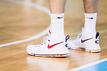 Shoes of the Spainish basketball player Rudy Fernandez during the  match of the preparation for the Rio Olympic Game at Madrid Arena. July 23, 2016. (ALTERPHOTOS/BorjaB.Hojas)