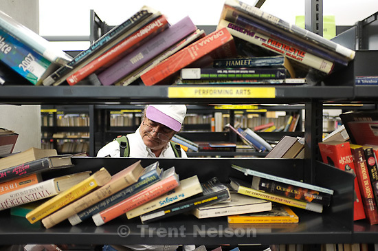 friends of library book sale, in Salt Lake City, Utah, Tuesday, October 18, 2011.
