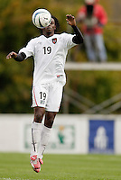 The MetroStars' Fabian Taylor. The MetroStars defeated the Chicago Fire 2-0 during the inaugural Hall of Fame game on Monday October 11, 2004 at At-A-Glance Field at the National Soccer Hall of Fame and Museum, Oneonta, NY..