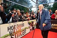 Utrecht, 25 september 2013<br /> Nederlands Film Festival 2013<br /> Openingsavond: Georges Sluizer op de rode loper<br /> Foto Felix Kalkman