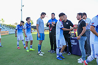 Irvine, CA - July 09, 2019: U.S. Soccer Boys' DA U-18/19 Final New York City FC vs FC Dallas at Great Park.